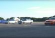 4 Generationen BMW M3 Dragrace 110x75 Video: Vergleich   4 Generationen BMW M3 im Dragrace