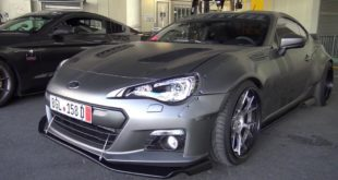 580 PS Widebody Subaru BRZ LS3 V8 Motor Tuning  310x165 Video: 950 HP Godzilla Nissan GT R gegen Yamaha R1