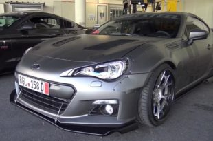 580 PS Widebody Subaru BRZ LS3 V8 Motor Tuning  310x205 Over the top Tuning im Subaru BRZ mit LS3 V8 Motor