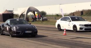 750 PS BMW M5 F90 vs. Porsche 911 Turbo S 991 Dragrace 310x165 Video: + 24 PS im Suzuki Swift Sport von HKS Co., Ltd.