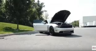 900 PS Ford Mustang vs. Dodge Challenger Hellcat 310x165 Video: 8,5 Sek.   Dodge Challenger Hellcat mit 1.600 PS