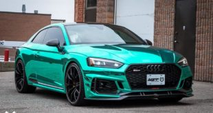 ABT Sportsline Audi RS5 R B9 Chromfolierung T%C3%BCrkis 1 310x165 Video: + 24 PS im Suzuki Swift Sport von HKS Co., Ltd.