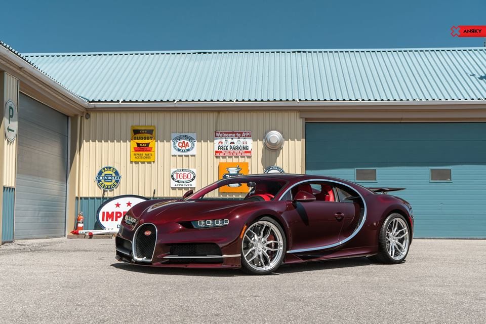 ANRKY AN11 Wheels Tuning Bugatti Chiron 17 Top   ANRKY AN11 Wheels am 1500 PS Bugatti Chiron