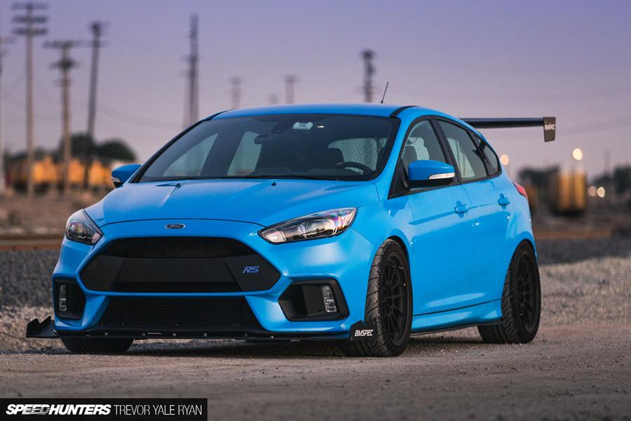 fierce part bmspec bodykit  ford focus rs