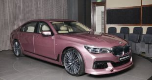 BMW 750LI G12 Violet rose Tuning individual 4 310x165 Schnitzer Parts am BMW M5 (F90) Competition in Imolarot