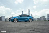 BMW M2 Long Beach Blue Forgestar S18 Felgen 3 190x127 BMW M2 (F87) in Long Beach Blue auf Forgestar S18 Felgen