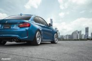 BMW M2 Long Beach Blue Forgestar S18 Felgen 5 190x127 BMW M2 (F87) in Long Beach Blue auf Forgestar S18 Felgen
