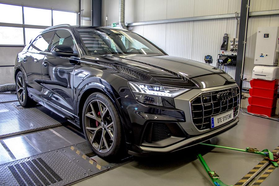 Chiptuning Audi Q8 4M DTE Systems Pedalbox 5 Erster! DTE Systems Chiptuning für den neuen Audi Q8