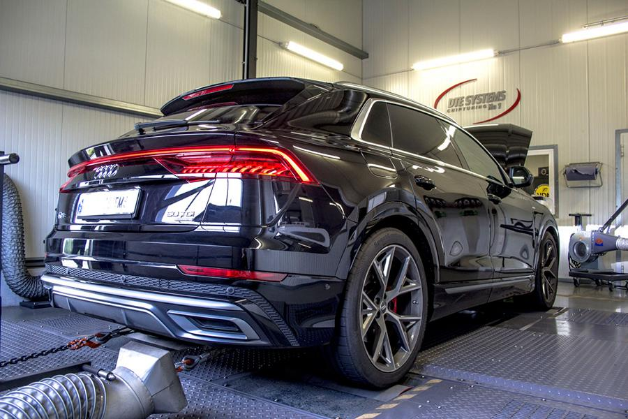Chiptuning Audi Q8 4M DTE Systems Pedalbox 6 Erster! DTE Systems Chiptuning für den neuen Audi Q8