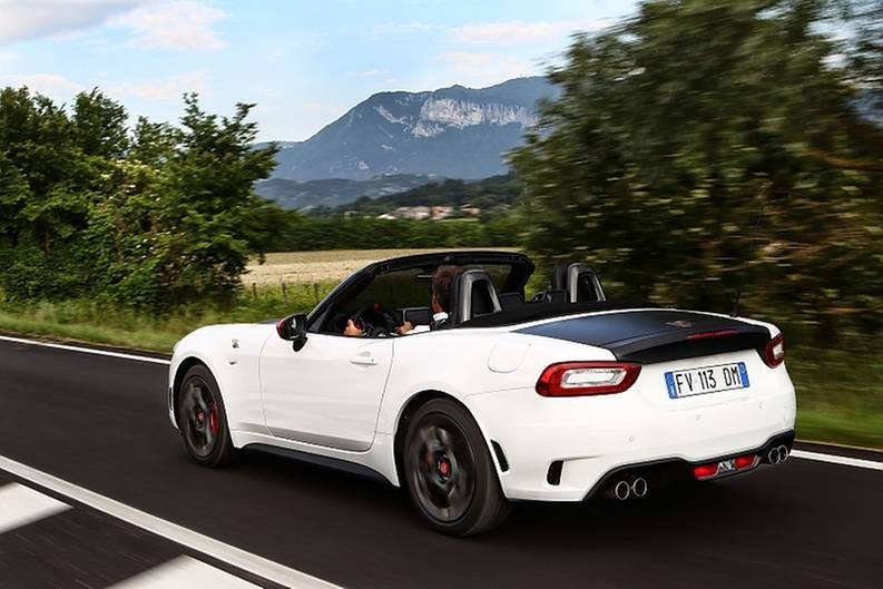 Fiat Abarth 124 Spider 2019 Tuning 3 Neu   Fiat Abarth 124 Spider nun auch als Krawallversion