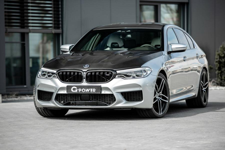 G Power BMW M5 F90 Venturi Carbon Motorhaube Tuning 4 Heftig   800 PS & 980 NM im G Power BMW M5 F90