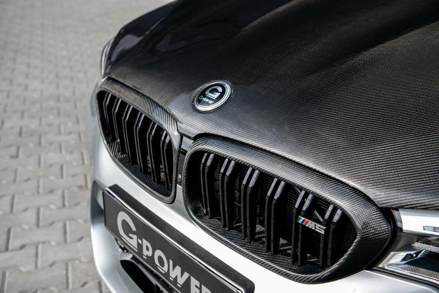 G Power BMW M5 F90 Venturi Carbon Motorhaube Tuning 5 G Power G5M Hurricane RR   BMW M5 (F90) mit 900 PS!