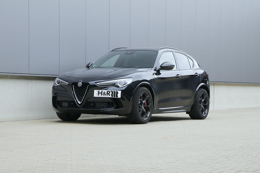 HR Sport Springs Alfa Romeo Stelvio Tuning 2 The Italy الوظيفة: H & R Sport Springs for the Alfa Romeo Stelvio
