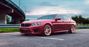HRE S101 Felgen Frozen Red BMW M5 F90 Tuning 3 310x165 Heffner BiTurbo Ford GT mit +1.000 PS und ANRKY Wheels