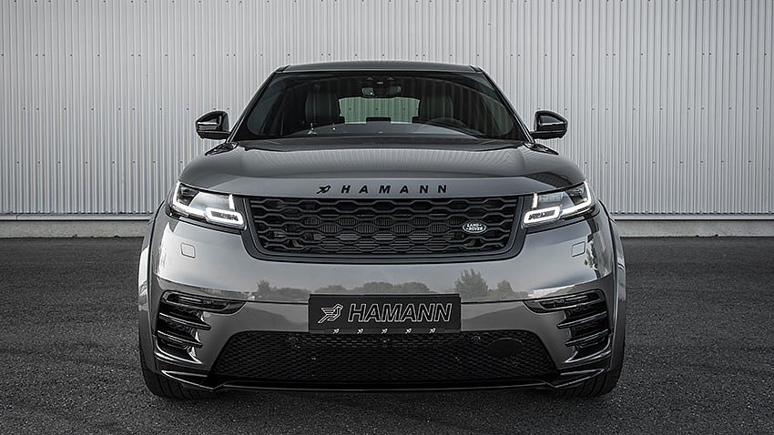 Hamann Motorsport Widebody Kit Range Rover Velar Tuning 2 Hamann Motorsport Widebody Kit am Range Rover Velar