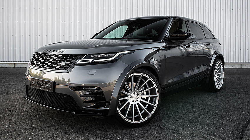 Hamann Motorsport widebody kit on Range Rover Velar