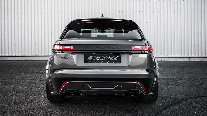 Hamann Motorsport Widebody Kit Range Rover Velar Tuning 5 Hamann Motorsport Widebody Kit am Range Rover Velar