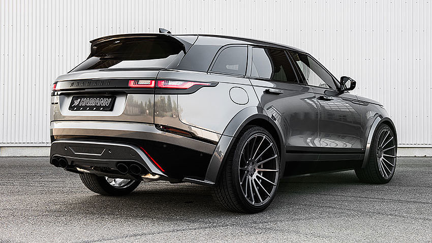 Hamann Motorsport Widebody Kit Range Rover Velar Tuning 7 Hamann Motorsport Widebody Kit am Range Rover Velar