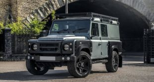 Kahn Land Rover Defender 2.2 TDCI 110 Utility Wagon Tuning 6 310x165 Widebody Land Rover Defender D110 als Project Evolution