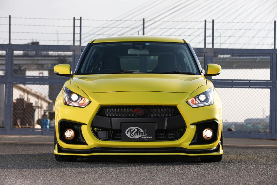 Kuhl Racing 2019 Suzuki Swift Sport Bodykit Airride 5 Fertig   Kuhl Racing 2019 Suzuki Swift Sport mit Bodykit