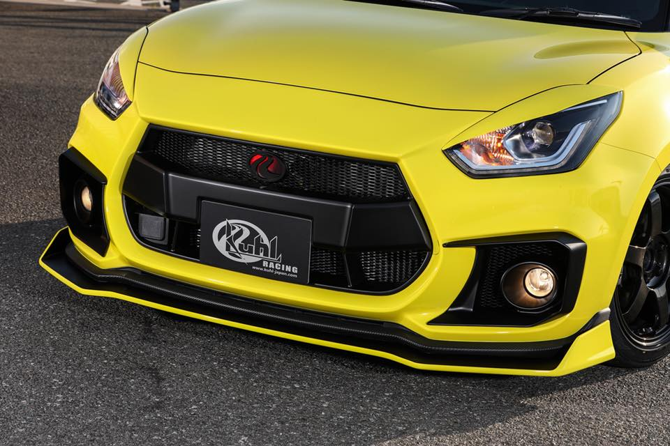 Kuhl Racing 2019 Suzuki Swift Sport Bodykit Airride 7 Fertig   Kuhl Racing 2019 Suzuki Swift Sport mit Bodykit
