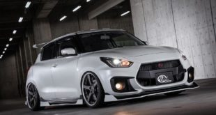 Kuhl Racing 2019 Suzuki Swift Sport Tuning Bodykit 5 310x165 Fertig   Kuhl Racing 2019 Suzuki Swift Sport mit Bodykit