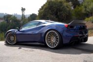 Liberty Walk Widebody Ferrari 488 GTB Forgiato RDB ECL Tuning 8 190x127 RDB LA Liberty Walk Widebody Ferrari 488 auf Forgiatos