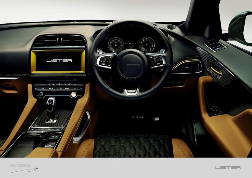 Lister LFP Jaguar F Pace Tuning 2018 3 Vorschau: Wird der Lister LFP das schnellste SUV der Welt?