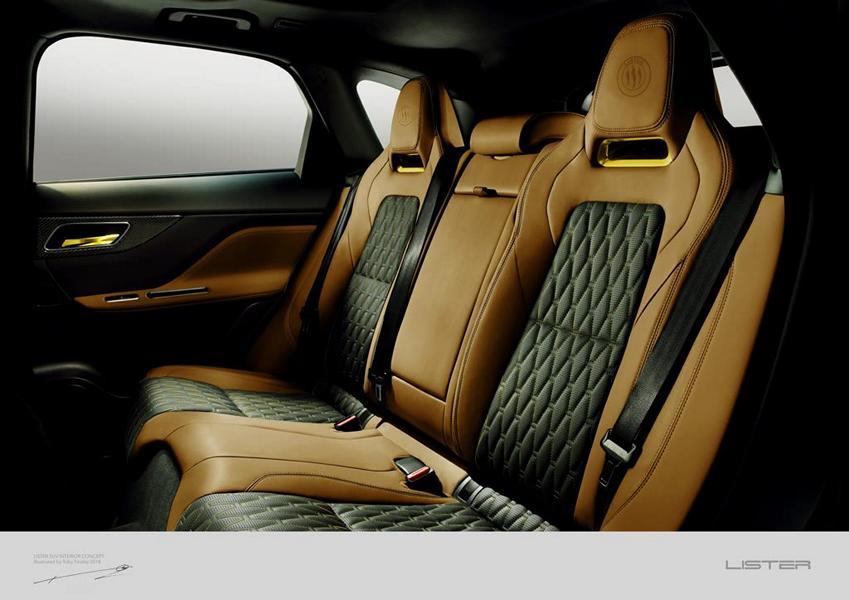 Lister LFP Jaguar F Pace Tuning 2018 4 Vorschau: Wird der Lister LFP das schnellste SUV der Welt?