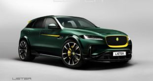 Lister LFP Jaguar F Pace Tuning 2018 8 310x165 Nobles Rallyauto: Jaguar F Type Roadster XK 120 Hommage