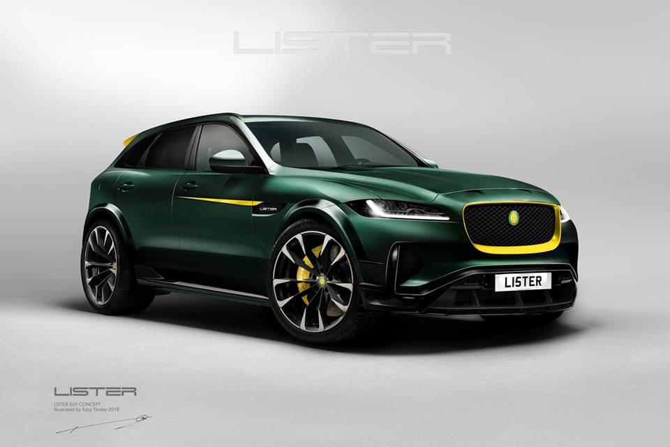 Lister LFP Jaguar F Pace Tuning 2018 8 Vorschau: Wird der Lister LFP das schnellste SUV der Welt?