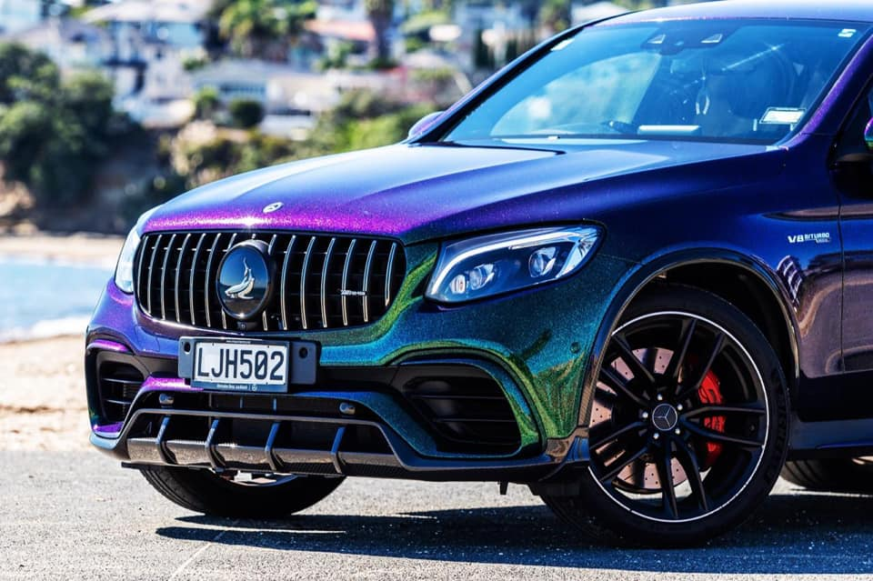 Mercedes GLC 63s AMG Inferno Bodykit cham%C3%A4leon Vollfolierung Tuning 2 Volle Ladung Carbon: Mercedes GLC Inferno Bodykit by TopCar