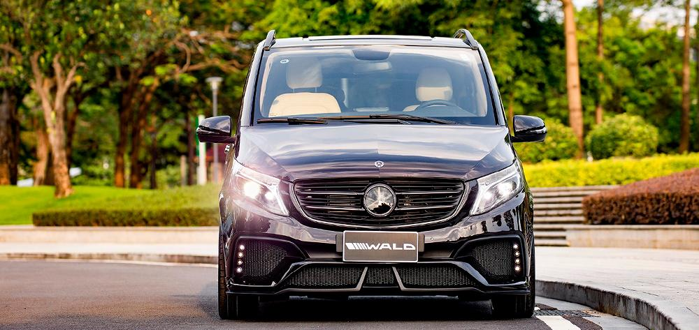 Mercedes V Klasse Sports Line Black Bison Edition W447 Bodykit 17 Mercedes V Klasse Sports Line Black Bison Edition (W447)
