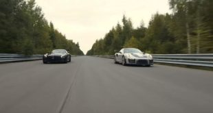Porsche 911 GT2 RS dragrace Mercedes AMG GT R Tuning4 310x165 Video: Porsche 911 GT2 RS vs. 650 PS Mercedes AMG GT R