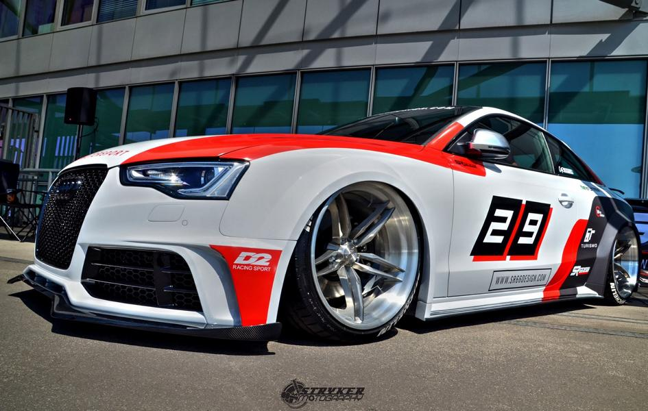 SR66 Design Widebody Audi S5 Coupe B8 Tuning 2 Extremely Fat SR66 Design Widebody Audi S5 Coupe (B8)