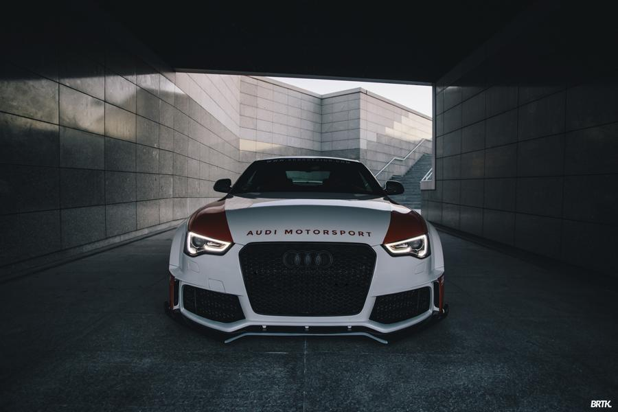SR66 Design Widebody Audi S5 Coupe B8 Tuning 22 Extremely Fat SR66 Design Widebody Audi S5 Coupe (B8)
