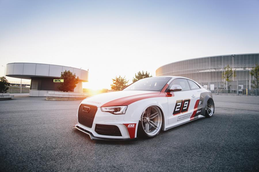 SR66 Design Widebody Audi S5 Coupe B8 Tuning 23 Extremely Fat SR66 Design Widebody Audi S5 Coupe (B8)
