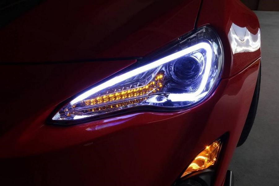 Headlight tuning headlights car modified? When is the change acceptance required?
