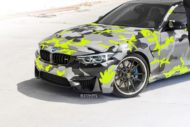 Strasse Wheels camouflage BMW M4 Coupe Tuning SV1 Felgen 10 190x127 Krasse Optik   Strasse Wheels camouflage BMW M4 Coupe
