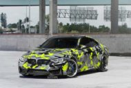 Strasse Wheels camouflage BMW M4 Coupe Tuning SV1 Felgen 3 190x127 Krasse Optik   Strasse Wheels camouflage BMW M4 Coupe