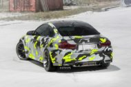 Strasse Wheels camouflage BMW M4 Coupe Tuning SV1 Felgen 6 190x127 Krasse Optik   Strasse Wheels camouflage BMW M4 Coupe