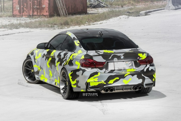 Strasse Wheels camouflage BMW M4 Coupe Tuning SV1 Felgen 6 Krasse Optik   Strasse Wheels camouflage BMW M4 Coupe