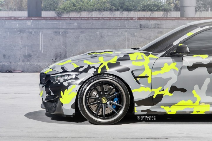 Strasse Wheels camouflage BMW M4 Coupe Tuning SV1 Felgen 7 Krasse Optik   Strasse Wheels camouflage BMW M4 Coupe