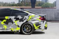 Strasse Wheels camouflage BMW M4 Coupe Tuning SV1 Felgen 8 190x127 Krasse Optik   Strasse Wheels camouflage BMW M4 Coupe