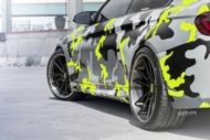 Strasse Wheels camouflage BMW M4 Coupe Tuning SV1 Felgen 9 190x127 Krasse Optik   Strasse Wheels camouflage BMW M4 Coupe