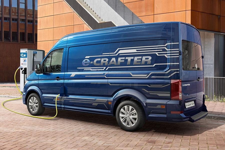 Electric Workhorse The New Vw E Crafter Is Coming Tuningblog Eu