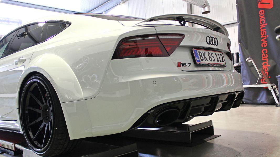 Widebody Audi RS7 PD700 Prior Tuning Rennen Forged 1 Besonders wide: Widebody Audi RS7 vom Tuner M&D