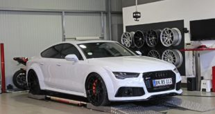 Widebody Audi RS7 PD700 Prior Tuning Rennen Forged 21 310x165 Heiß   Vollfolierung in Mattgrün am 2018 Audi A7 (C8)
