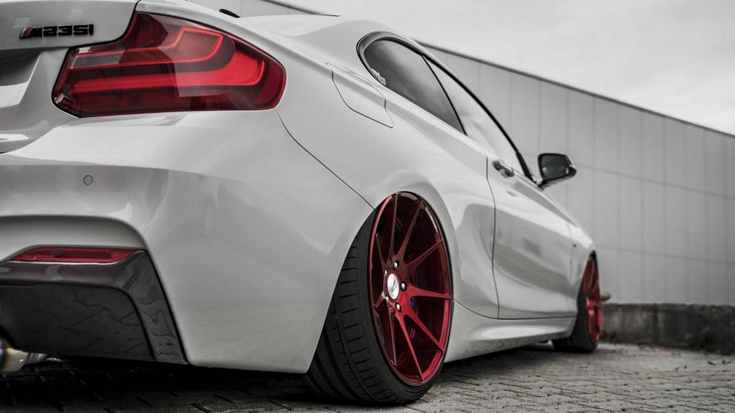 Z Performance ZP08 BMW F22 M235i Coupe Tuning 10 Top! Z Performance Felgen am BMW F22 M235i Coupe