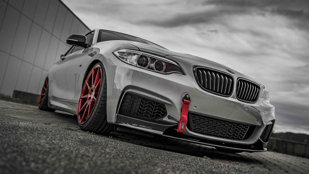 Z Performance ZP08 BMW F22 M235i Coupe Tuning 2 Top! Z Performance Felgen am BMW F22 M235i Coupe